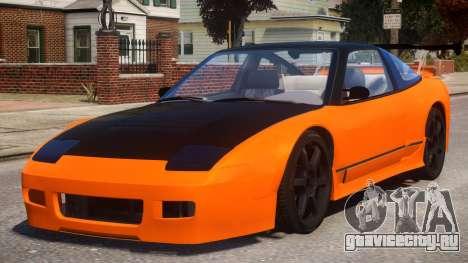 Nissan 240SX Stock для GTA 4