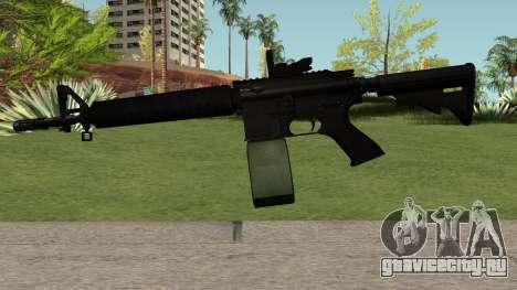 M4-A1 Black для GTA San Andreas