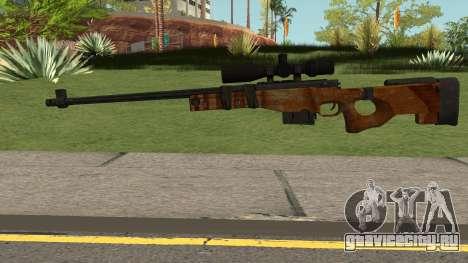 The Walking Dead Andrea Comic Weapon для GTA San Andreas