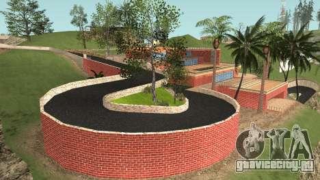 New Mad Dogg House для GTA San Andreas второй скриншот