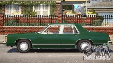 1983 Ford Crown Victoria для GTA 4 вид слева