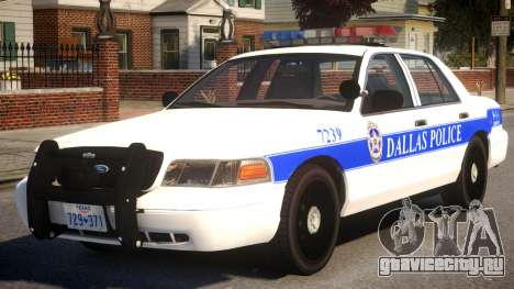 2008 Ford Crown Victoria для GTA 4