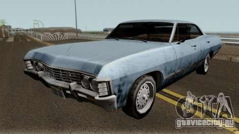 Chevrolet Impala 67 Sobrenatural V2 для GTA San Andreas