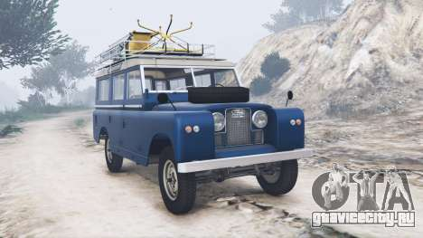 Land Rover Series II 109 Station Wagon 1971 для GTA 5
