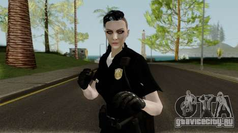 GTA Online Female Random Skin 4 Police Officer для GTA San Andreas