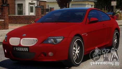 BMW 6-Series Stock для GTA 4
