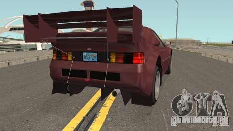 Vapid GB200 GTA V IVF для GTA San Andreas вид справа