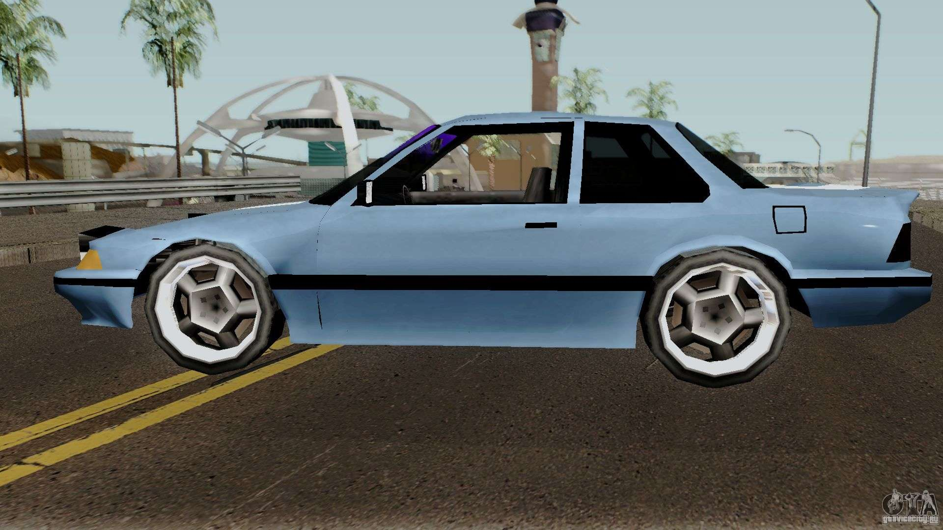 Honda Prelude Low-poly V2 для GTA San Andreas