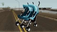 Double Baby Stroller для GTA San Andreas