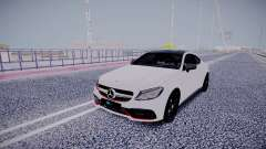 Mercedes-Benz C63 White для GTA San Andreas
