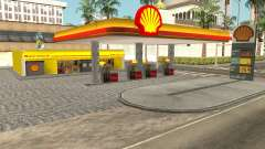 Shell Gas Station Updated для GTA San Andreas