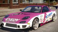 RX-7 Exedy Drift Car