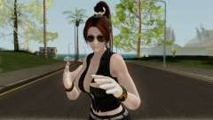 Mai Shiranui (Short Leather) From Dead or Alive для GTA San Andreas