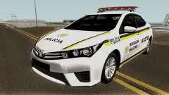 Toyota Corolla Brazilian Police для GTA San Andreas