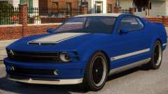 Vapid Dominator Stock для GTA 4