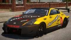 Nissan 350Z Supreme PJ2 для GTA 4