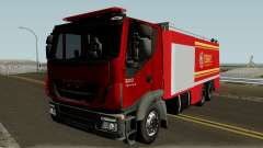 Iveco Trakker Firetruck для GTA San Andreas