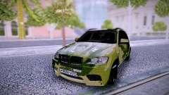 BMW X5M Camo для GTA San Andreas