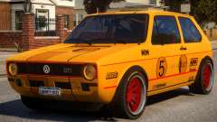 VW Golf GTI MK1 Rally PJ