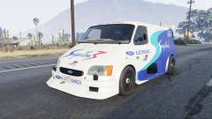 Ford Transit Supervan 3 2004 [replace] для GTA 5