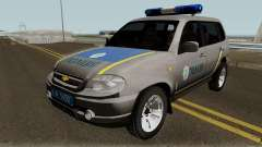 Chevrolet Niva GLC 2009 Ukraine Police Gray