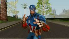 Captain America From Marvel Strike Force для GTA San Andreas