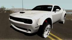 Dodge Challenger SRT Hellcat Rocket Bunny 2015 для GTA San Andreas