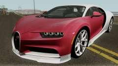 Bugatti Chiron HQ для GTA San Andreas