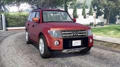 Mitsubishi Pajero LWB 2007 v1.1 [replace] для GTA 5