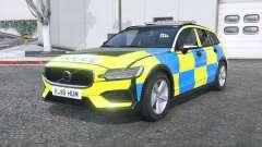Volvo V60 T6 2018 Police [ELS] [replace] для GTA 5