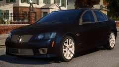 Pontiac G8 GXP V2 для GTA 4