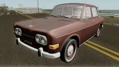 Volkswagen 1600 Sedan (Ze do Caixao) 1970 для GTA San Andreas