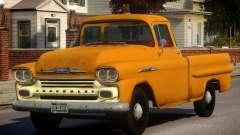 1958 Chevrolet Apache Used для GTA 4