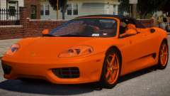 2000 Ferrari 360 Spider V1.2 для GTA 4