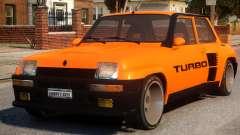 Renault 5 Turbo V2 для GTA 4