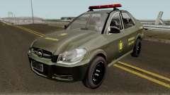 Chevrolet Prisma Brigada Militar для GTA San Andreas