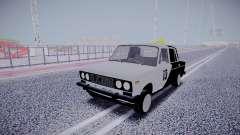 ВАЗ 2106 13 номер для GTA San Andreas