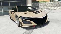 Acura NSX 2017 [replace]