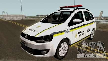 Volkswagen SpaceFox Police для GTA San Andreas