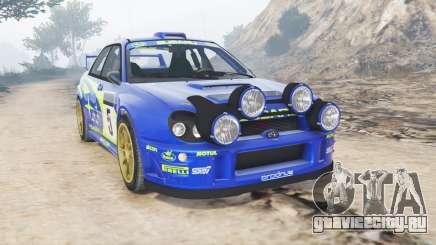 Subaru Impreza S8 WRC (GD) 2001 [add-on] для GTA 5