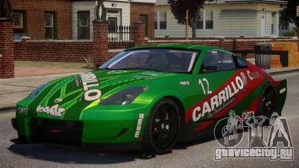 Nissan 350Z Supreme PJ4 для GTA 4
