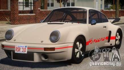 1974 Porsche 911 PJ4 для GTA 4
