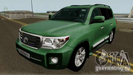 Toyota Land Cruiser 200 Government для GTA San Andreas