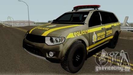 Mitsubishi Pajero Brazilian Police для GTA San Andreas