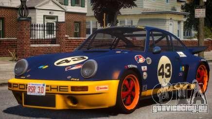 1974 Porsche 911 PJ7 для GTA 4