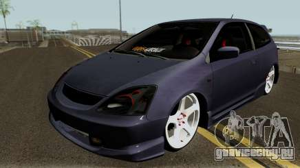 Honda Civic Type-R HQ для GTA San Andreas