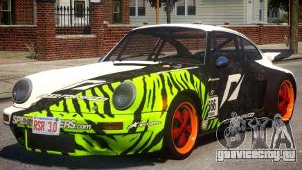 1974 Porsche 911 PJ2 для GTA 4