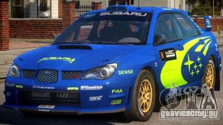 Subaru Impreza WRX STi PJ1 для GTA 4
