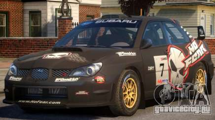 Subaru Impreza WRX STi PJ2 для GTA 4