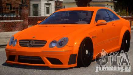 Mercedes Benz CLK63 V1.0 для GTA 4